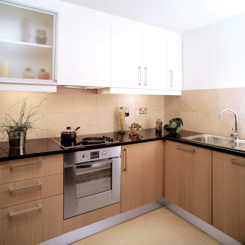 Prefabricated kitchen unit
