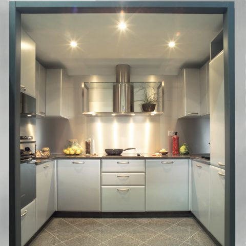 High-level apartment prefabricated kitchen pod version 2