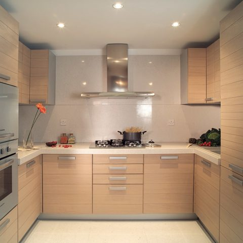 High-level apartment prefabricated kitchen pod version 3