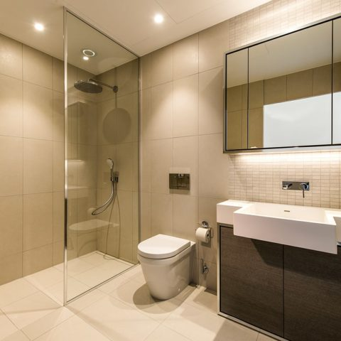 Luxury apartment prefabricated bathroom pod version 3