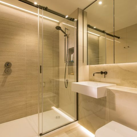 Luxury apartment prefabricated bathroom pod version 2