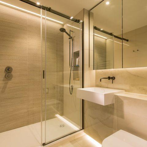 Luxury apartment prefabricated bathroom pod version 2