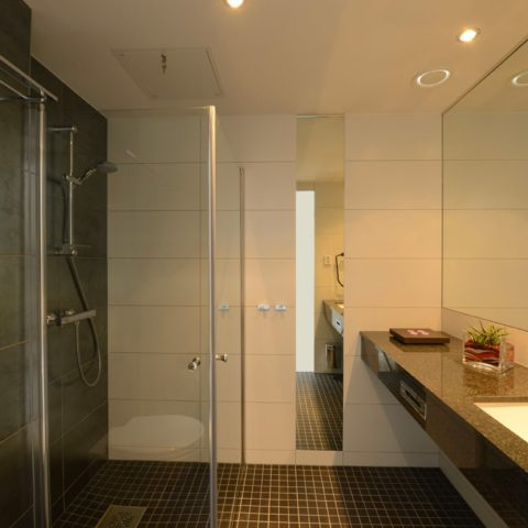 Norway hotel prefabricated bathroom pod