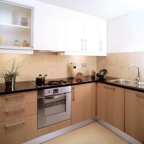 High-level apartment prefabricated kitchen pod version 5