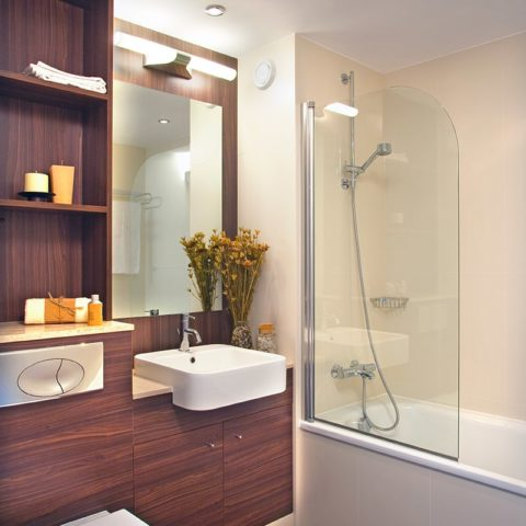 Luxury apartment prefabricated bathroom pod version 1