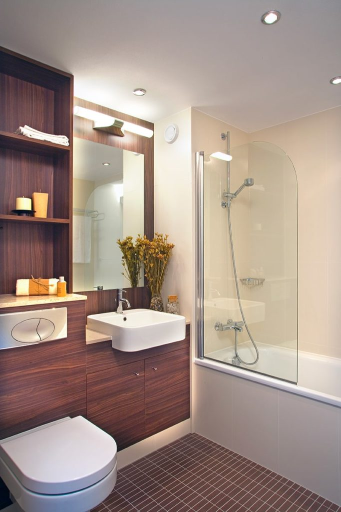 Aesthetic Apartment Bathroom