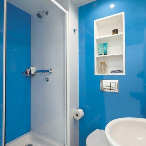 Student prefabricated bathroom pod