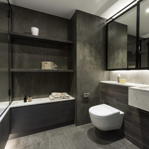 Luxury residential bathroom pod