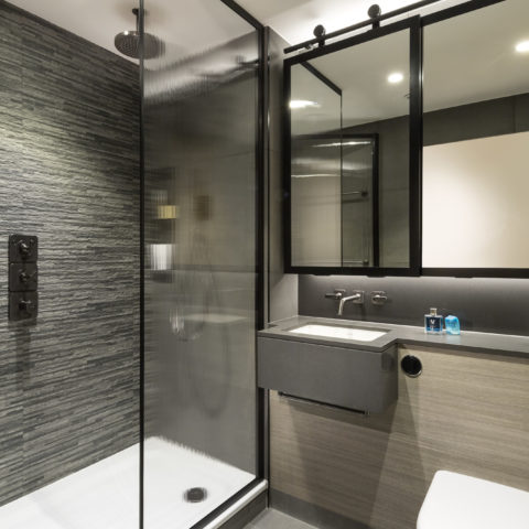 Luxury residential ensuite pod